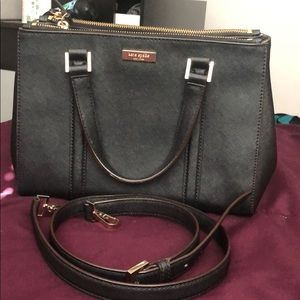 Black Kate Spade Newbury Lane Loden Small